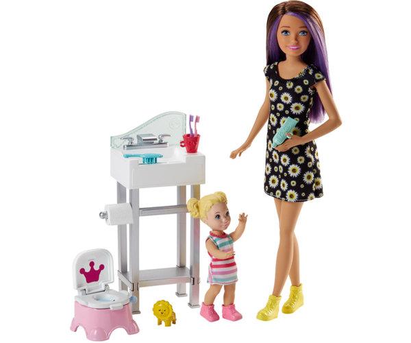 Кукла Barbie - Игрален комплект детегледачка
